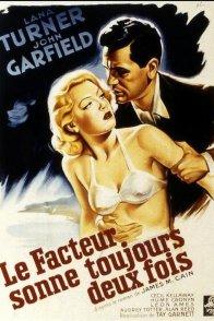 Affiche du film : Le facteur sonne toujours deux fois