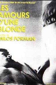 Affiche du film : Les Amours d'une blonde