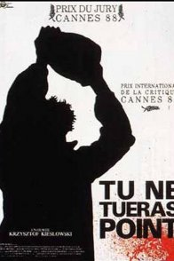 Affiche du film : Tu ne tueras point