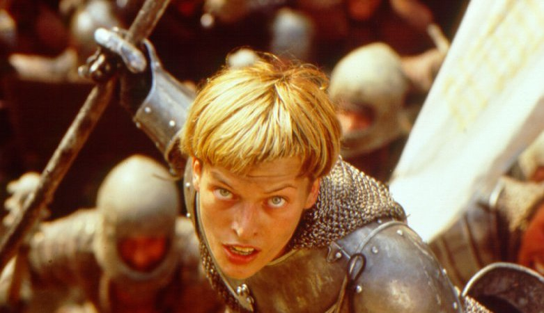 Jeanne d'Arc : Le film Milla Jovovich Movies 1999
