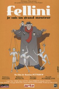 Affiche du film : Fellini : je suis un grand menteur