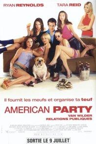 Affiche du film : American party
