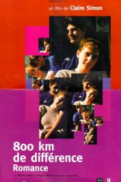 background picture for movie 800 km de difference / romance