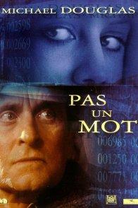 Affiche du film : Pas un mot
