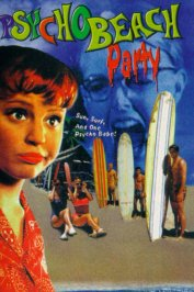 background picture for movie Psycho beach party