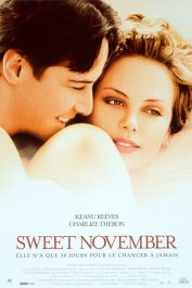 background picture for movie Sweet november