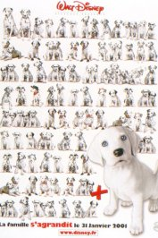 background picture for movie 102 dalmatiens