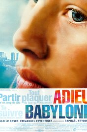background picture for movie Adieu Babylone