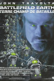 background picture for movie Battlefield earth, terre champ de bataille