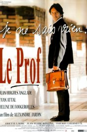 background picture for movie Le prof