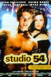 background picture for movie Studio 54