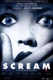 background picture for movie Scream