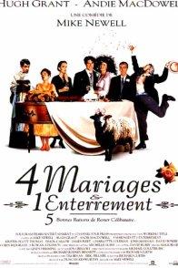 Affiche du film : Quatre mariages et un enterrement