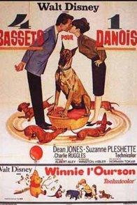 Affiche du film : Quatre bassets pour un danois