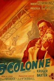 background picture for movie Cinquieme colonne