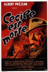 Affiche du film : Cecile est morte