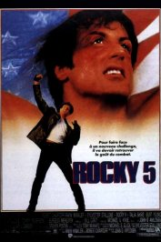 background picture for movie Rocky V