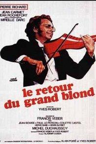 Affiche du film : Le retour du grand blond