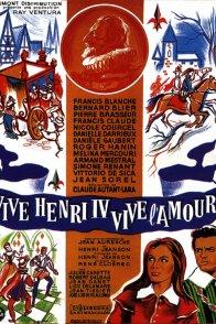 Affiche du film : Vive Henri IV, vive l'amour