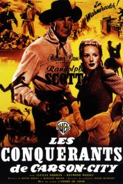 background picture for movie Les conquerants de carson city