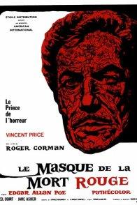 Affiche du film : Le masque de la mort rouge