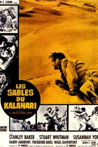 Affiche du film : Les sables du kalahari