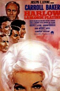 Affiche du film : Harlow la blonde platine