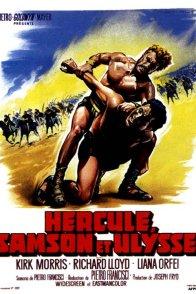 Affiche du film : Hercule samson et ulysse