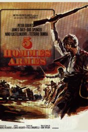 background picture for movie 5 hommes armes