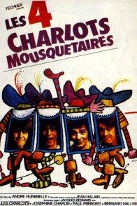 Affiche du film : Les quatre charlots mousquetaires