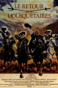 Affiche du film : Le retour des mousquetaires