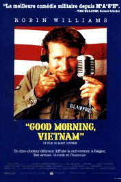 background picture for movie Good morning vietnam