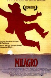 background picture for movie Milagro