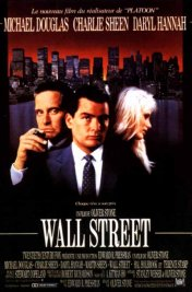 Affiche du film : Wall street
