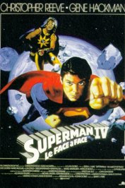 background picture for movie Superman IV