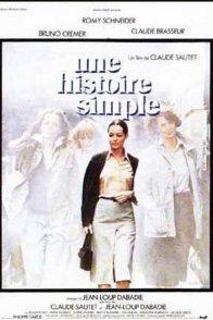 Affiche du film : Une histoire simple