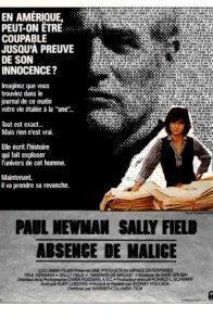 Affiche du film : Absence de malice