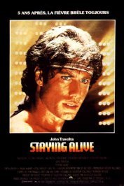 background picture for movie Staying alive