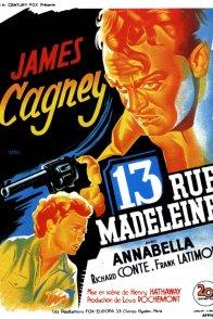 Affiche du film : 13 rue madeleine