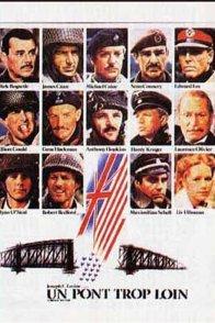 Affiche du film : Un pont trop loin