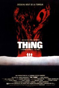 Affiche du film : The thing