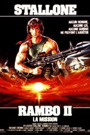 background picture for movie Rambo II La Mission