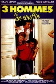 Affiche du film : Trois hommes et un couffin