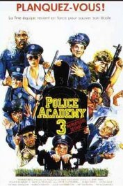 background picture for movie Police academy 3
