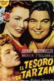 background picture for movie Le tresor de tarzan