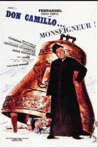 Affiche du film : Don camillo monseigneur