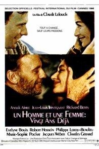 Affiche du film : Un homme et une femme, 20 ans déjà