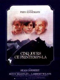 Photo dernier film Fred Zinnemann