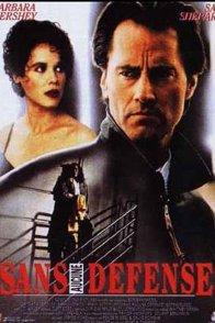 Affiche du film : Sans aucune defense