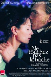 Affiche du film : Ne touchez pas la hache